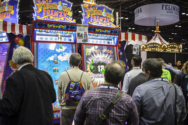 Team Play's Booth at IAAPA 2014