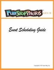 Photo booth sales - event scheduling guide