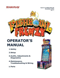 Fishbowl Frenzy Opertor's Manual