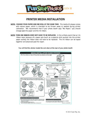 Media Installation Guide by digital photo booth manufacturers Team Play Inc