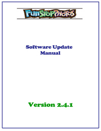 Photo booth software update manual